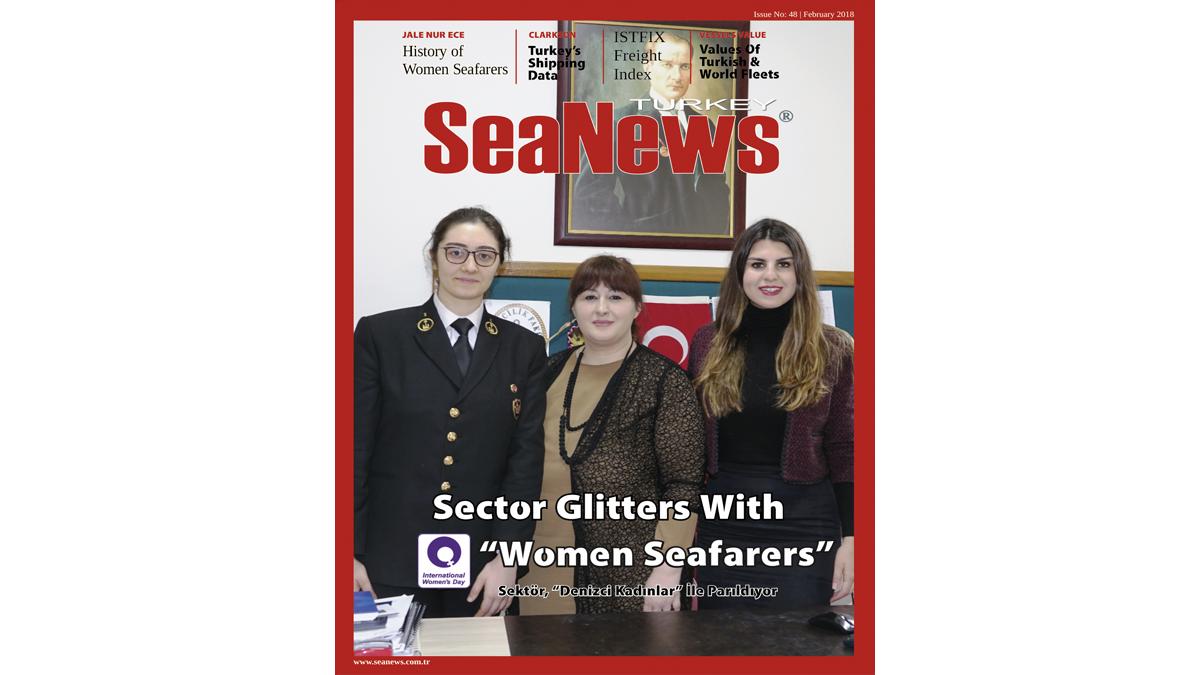 SEANEWS 48- Woman Seafarers- Pelin Bolat- Elif Bal Beşikçi- Merve Alessia Yiğit